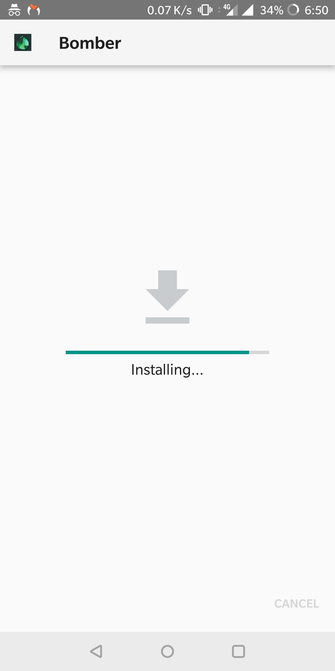 Message-Bomber-Apk-Installing