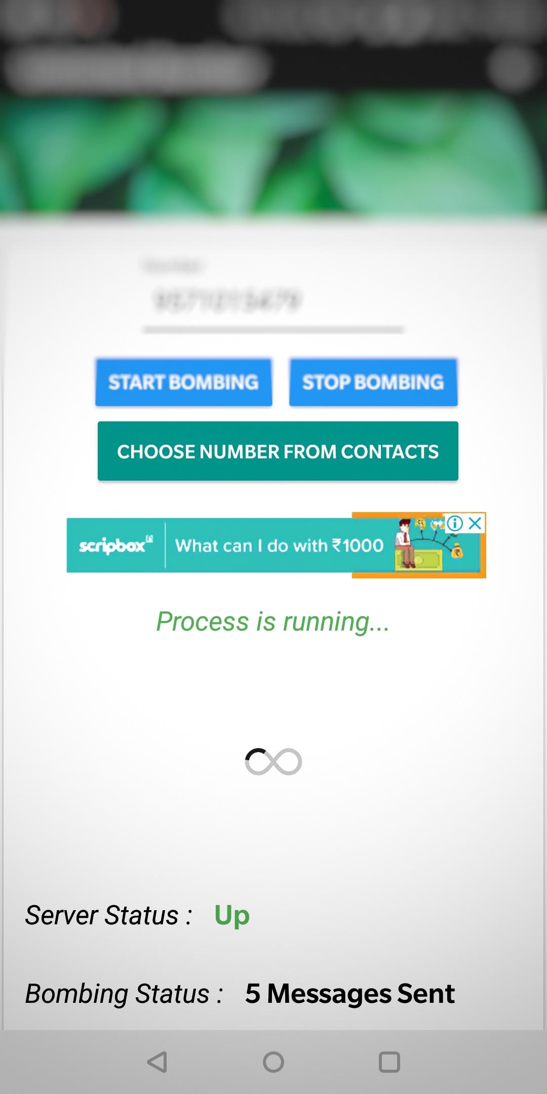 SMS Bomber Apk Download Latest for Android (Udit Karode)